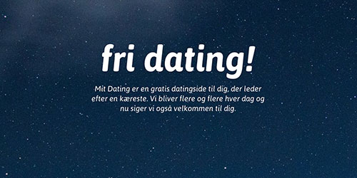 bedste interesser for dating site